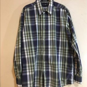 Beverly Hills Polo Club Men's Buttoned Down Shirt
